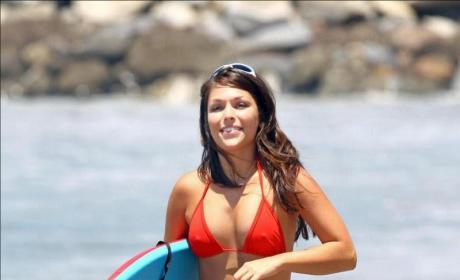 Bikini Photo Finish: DeAnna Pappas vs. Cheryl Burke