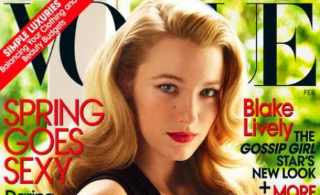 Blake Lively Graces Cover of Vogue
