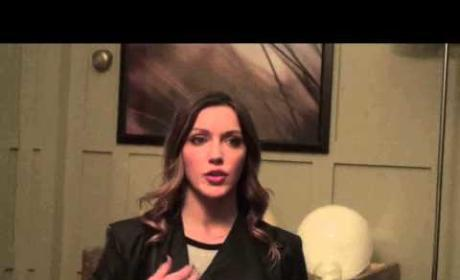 Katie Cassidy Set Interview