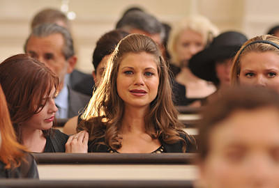 Megan at the Funeral