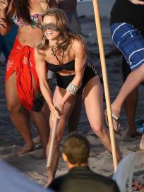 Naomi on the Beach