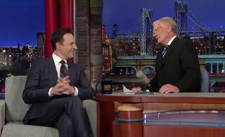 Josh Charles Talks Exit from The Good Wife with David Letterman