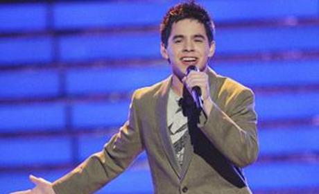 David Archuleta Gives Props to David Cook