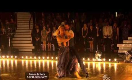 James Maslow & Peta Murgatroyd: Foxtrot