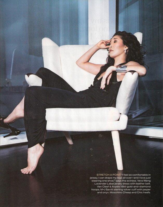 In Style Magazine Profiles Sandra Oh Tv Fanatic