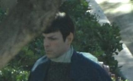Sneak Peak at Zachary Quinto as Spock