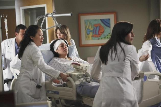Callie Torres On the Mend