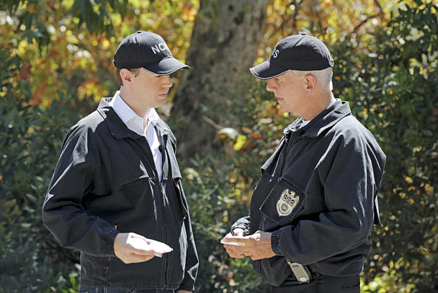 McGee & Gibbs At the Crime Scene