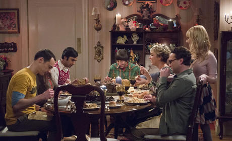 The Family Dinner - The Big Bang Theory