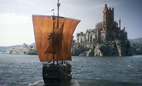 Boat of Death - Game of Thrones Season 6 Episode 1
