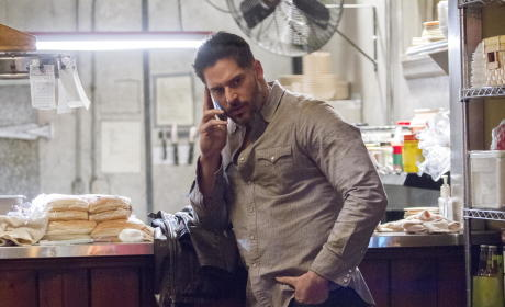 Alcide on the Phone