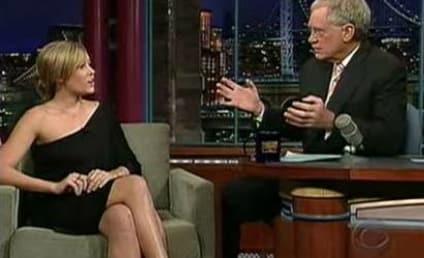 Lauren Conrad Chats Up David Letterman