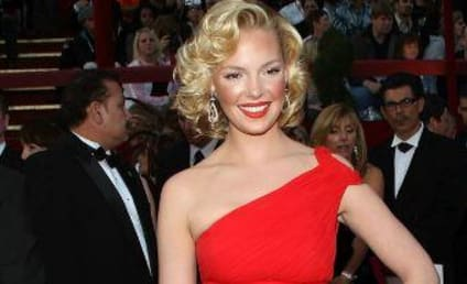 Katherine Heigl at the Oscars