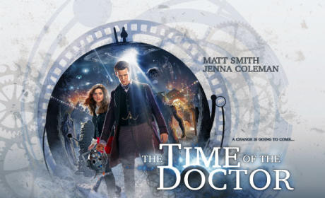 Time Of The Doctor poster