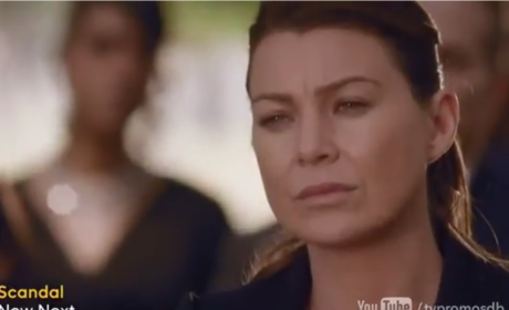Meredith in Mourning - Grey's Anatomy