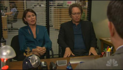 Maura Tierney on The Office
