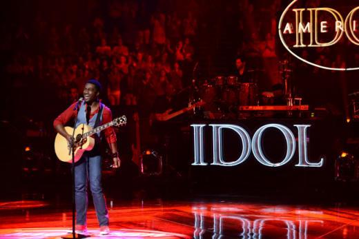 David Oliver Wells on American Idol
