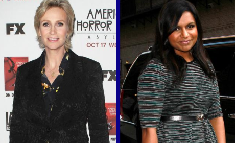 Tournament of TV Fanatic: Jane Lynch vs. Mindy Kaling!