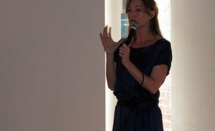 Ellen Pompeo Speaks at Fundraiser