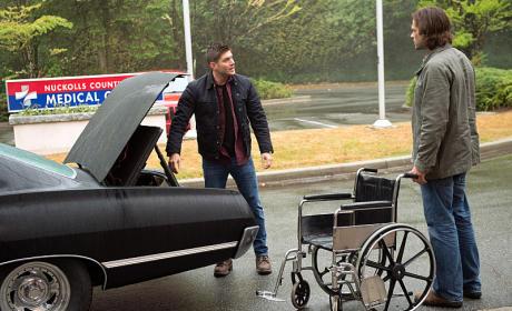 Wheelchair - Supernatural Season 11 Episode 1