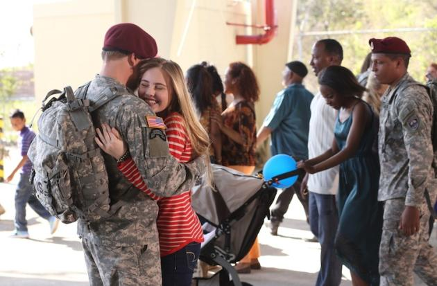 An Army Wives Return