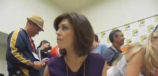 Amy Pietz at Comic Con