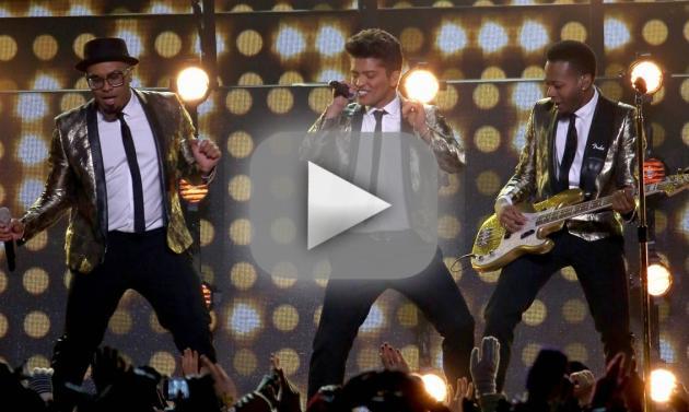 Bruno Mars Halftime Performance