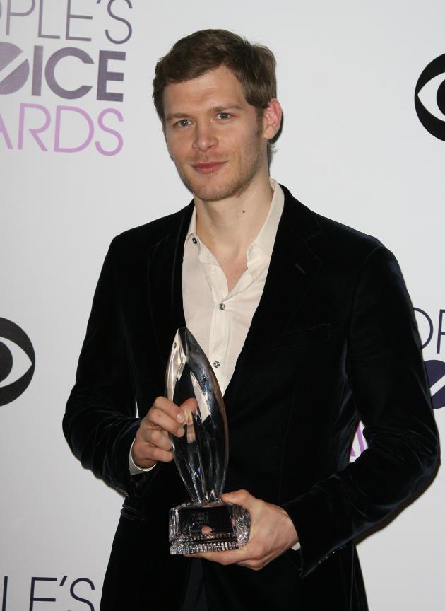 Joseph Morgan as a Winner