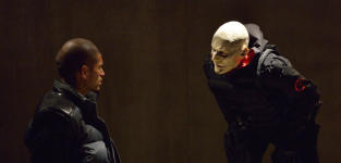 Quinlan Questions Gus - The Strain Season 1 Episode 13
