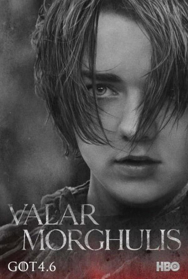 Maisie Williams as Arya
