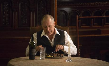 Time for a delicious meal - The Blacklist Season 4 Episode 5