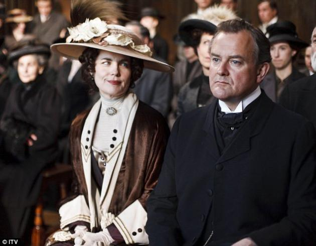 Lord and Lady Grantham