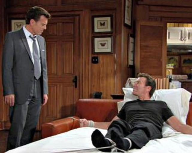 Jack abbott and fake jack the young and the restless