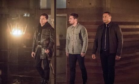 The Boys - Arrow Season 4 Episode 13