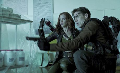 At the Ready - Arrow Season 3 Episode 17