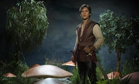 Peter Gadiot Talks Genies and Romance In Once Upon a Time In Wonderland