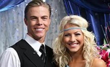 Derek and Julianne Hough Featured in TV Guide