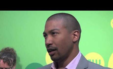 Charles Michael Davis and Phoebe Tonkin Tease Tone, Friction of The Originals