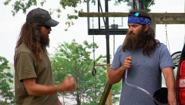 Jep Siphons Fuel - Duck Dynasty