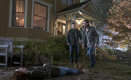 Sam, Dean and Charlie - Supernatural Season 10 Episode 11