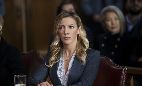 Laurel at Work - Arrow Season 4 Episode 16