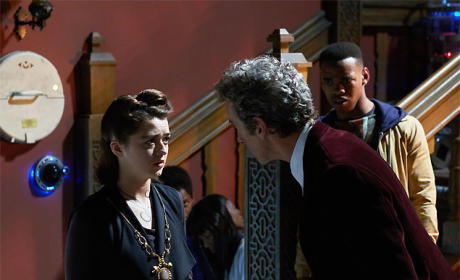 Ashildr Reprimanded  - Doctor Who Season 9 Episode 10