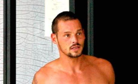 Justin Chambers. Shirtless.