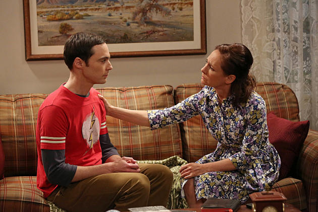 Sheldon Visits His Mother