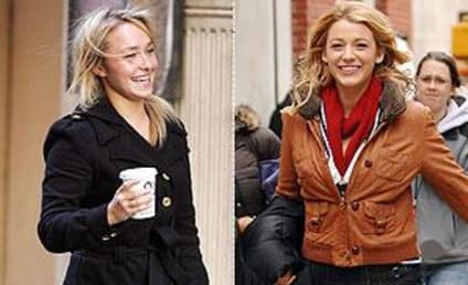Blake Lively, Hayden Panettiere Show Off Booty