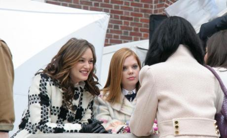 Trio of Gossip Girl Stars Filming in Manhattan