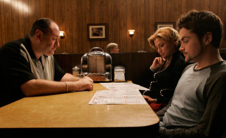 The Sopranos Series Finale Final Scene