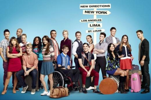 Glee Cast Photograph