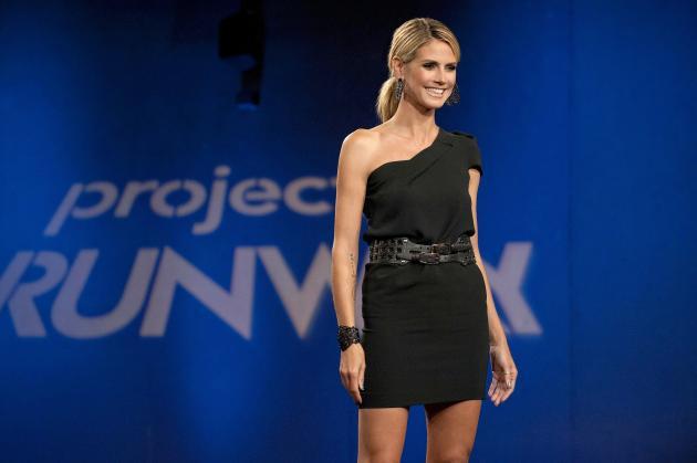 Heidi Klum on Stage