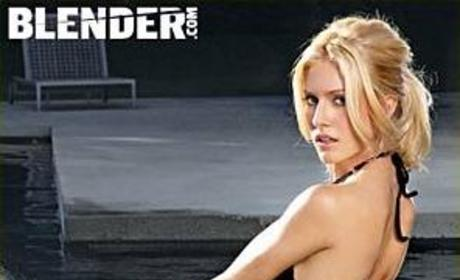 Heidi Montag in New Issue of Blender